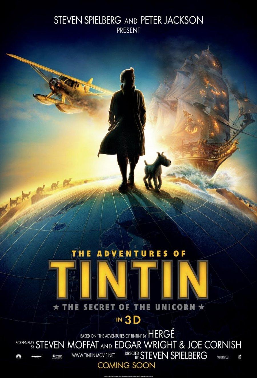 Приключения тинтина тайна единорога 2 14 фотография